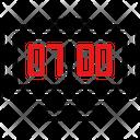 Digital Clock Icon