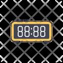 Digital Clock Hour Watch Icon