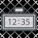 Digital Clock Wake Up Watch Icon