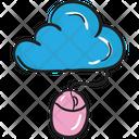 Online Cloud Digital Cloud Cloud Computing Icon