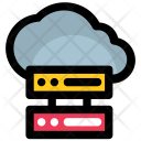 Digital cloud Icon