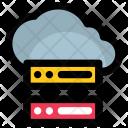 Cloud Server Network Icon