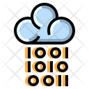 Digital Cloud Network Icon