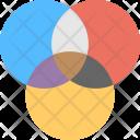 Digital Reflection Color Icon