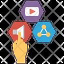 Digital Concept Digital Apps Social Media Icon