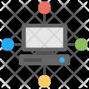 Digital Connection Icon
