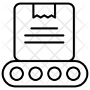 Box Conveyor Distribution Icon