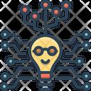 Digital Technology Circuit Icon