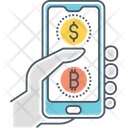 Mdigital Currency Payment Icon