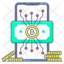 Digital Currency Bitcoin Cryptocurrency Icon