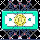 Cryptocurrency Digital Money Blockchain Icon