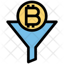 Digital Currency Funnel Flow Icon
