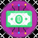 Digital Money Digital Currency Money Network Icon