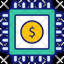 Digital Currency Adsense Block Chain Icon