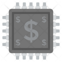 Digital Currency Physical Icon