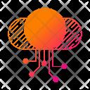 Digital data storage Icon