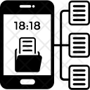 Data Interchange Exchange Icon