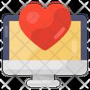 Digital Dating Online Love Online Matchmaking Icon