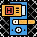 Digital door Icon