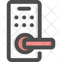 Door Handle Door Keycard Icon