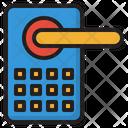 Digital Door Lock Smart Door Lock Smart Key Icon