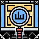 Digital Economy Analysis Online Economy Icon