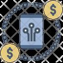Digital Economy Cashless Technology Icon