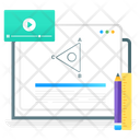 Digital Education Online Education Online Learning Icon