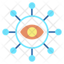 Digital Eye Icon