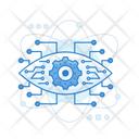 Digital Eye Bionic Eye Monitoring Icon
