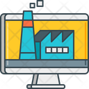 Digital Factory Icon