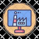 Digital Factory Icon