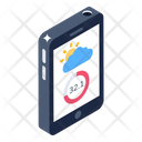 Digital Forecast Mobile Forecast Weather Forecast Icon