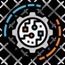 Digital Gear Icon