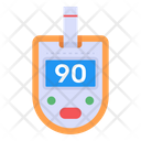 Smart Glucometer Digital Glucometer Blood Checker Icon