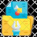 File Digital Graphic Design Tool Icon