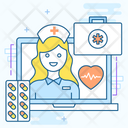 Digital Healthcare Icon