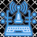 Laptop Internet Network Icon