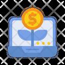 Digital Investment Icon