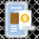 Invoice Digital Paperless Icon