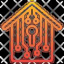 House Technology Digital Key Icon