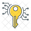 Digital Key Key Keyword Icon