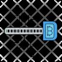 Digital Key Bitcoin Icon