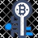 Digital Key Bitcoin Key Digital Key Icon