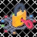 Digital Access Digital Key Digital Encryption Icon