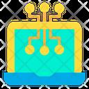 Digital Laptop Icon