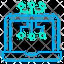 Digital Laptop Device Icon