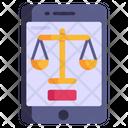 Digital Law Icon