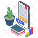 Digital Library Icon