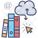 Digital Library Education Book Icon